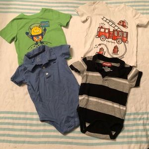 Lot of baby boys 24 month shirts and onesies